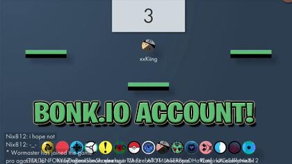 bonk.io account